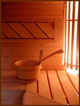 sauna à la maison