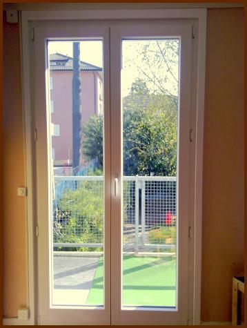 Nouvelle porte-fenêtre